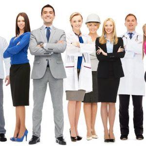 Many diverse employers